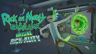 Rick and Morty: Virtual Rick-ality VR HTC Vive - Teaser Trailer