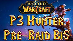 Classic WoW Hunter: Pre-Raid BiS List Phase 3