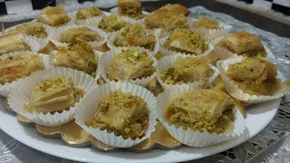 Baklava Arabic Sweet Dish - Very easy and quick recipe