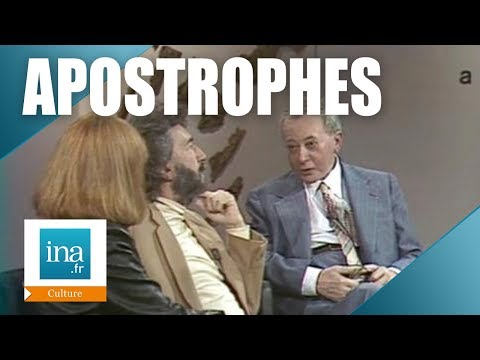 Apostrophes : Alain Robbe-Grillet et Robert Kanters