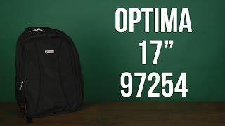 Розпакування Optima 17'' унісекс