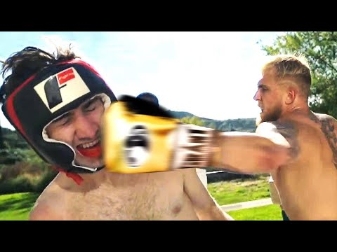 BOXING A YOUTUBER WHO SHOWED UP AT MY HOUSE