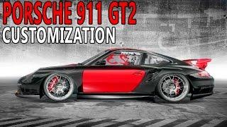 NFS Pro Street - Porsche 911 GT2 (Customization and Gameplay)
