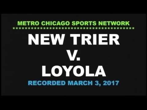 New Trier basketball v Loyola 03 03 17