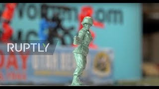 Female toy soldiers join ranks of the 'Little Green Army'
