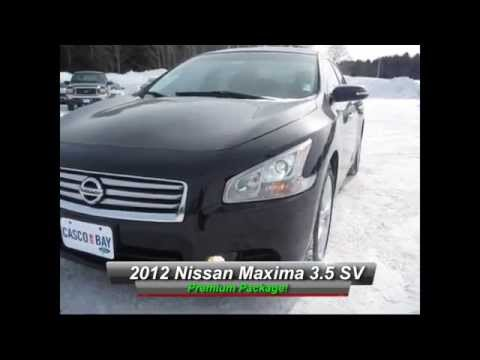 2012 Nissan Maxima 35 SV Premium Package