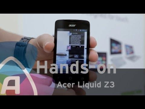 Acer Liquid Z3 hands-on (Dutch)