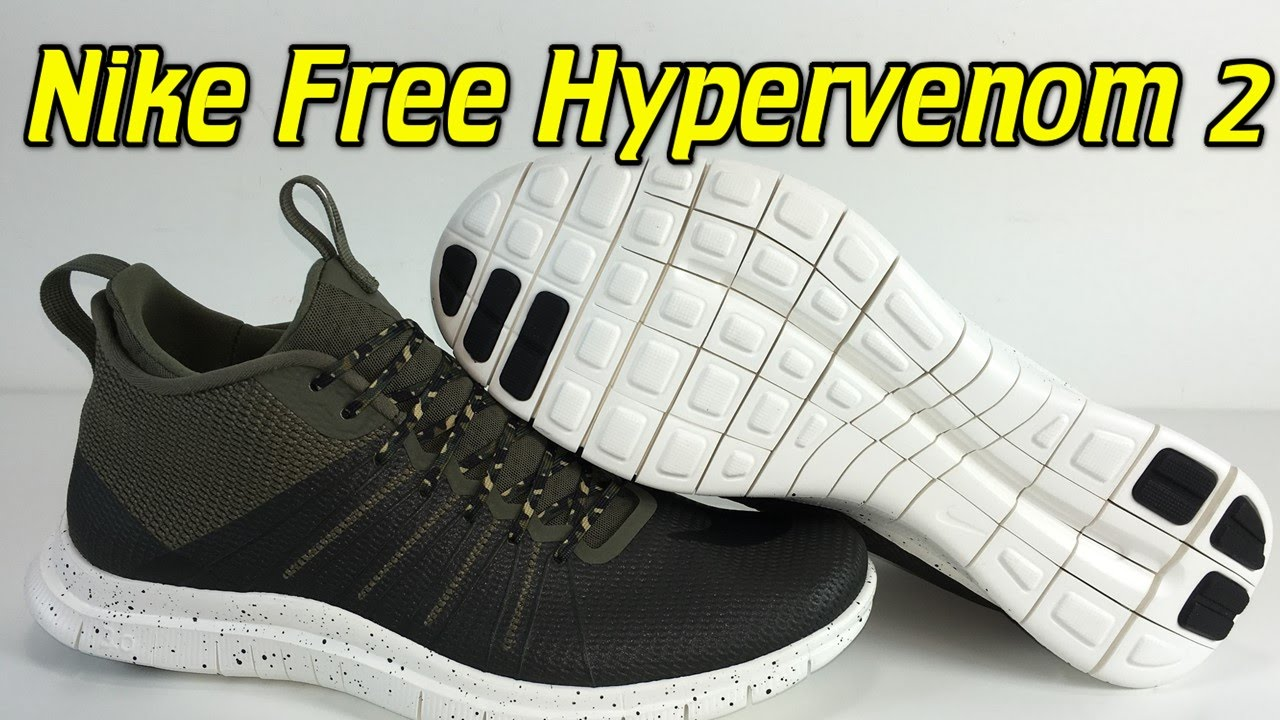 2540e14a2fc0 Nike Free Hypervenom 2 Medium Olive - Review + On Feet - YouTube