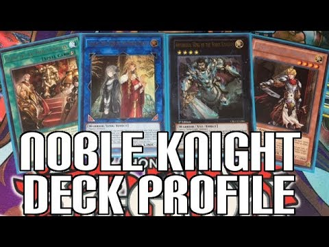 YUGIOH NOBLE KNIGHT DECK PROFILE + COMBOS! - Isolde Link! Post Extreme Force & Feb 2018 Banlist