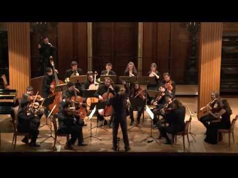 W.A. Mozart: Sinfonie No. 1 KV 16 / Folkwang Kammerorchester - Johannes Klumpp - conductor