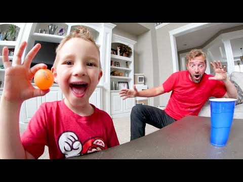 Father Son BEST TRICK SHOTS EVER!