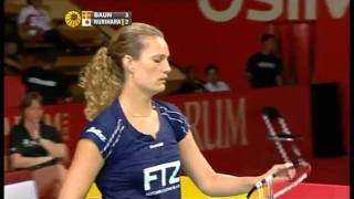 R16 - WS - Tine Baun vs. Ayane Kurihara - 2011 Djarum Indonesia Open
