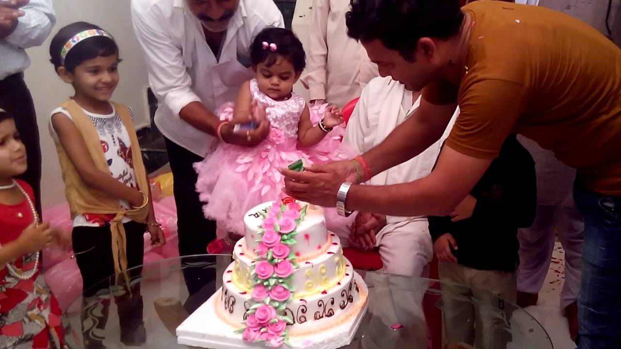 Aradhya Birthday Third 2017