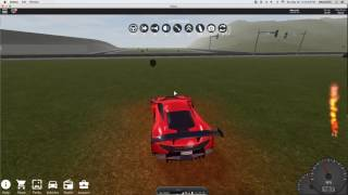 How to win almost every highway race in Vehicle simulator (roblox)