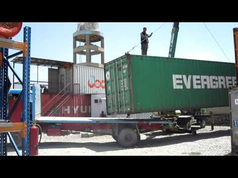 Shipping Containers Kabul Afghanistan