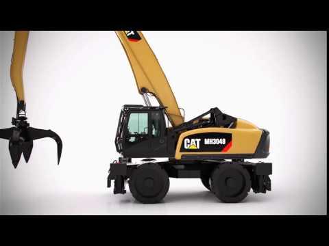 Колесные перегружатели Cat® MH3049