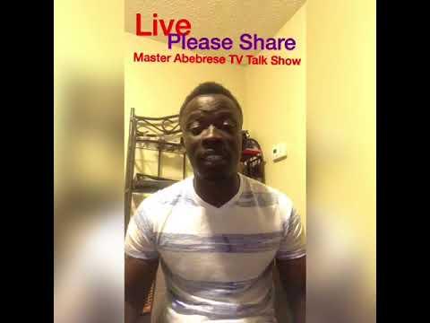Master Abebrese talk against One Corner Dance in Ghana