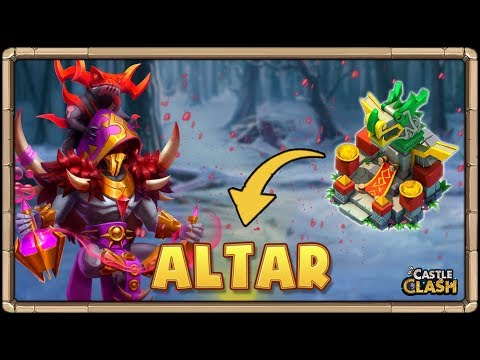 SERVER Vs SERVER??? + Altar De Héroes | Castle Clash