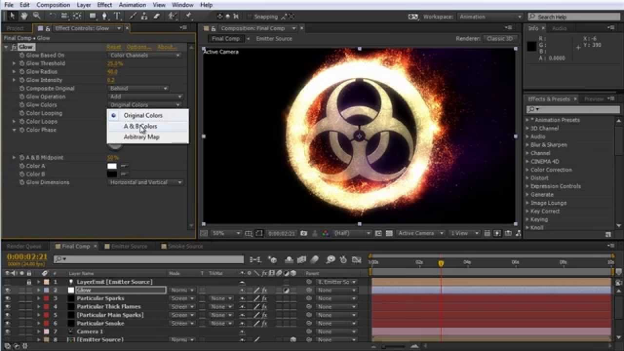 Red Giant | Episode 98 - Catching Fire: Procedural Fire FX with Trapcode  Particular