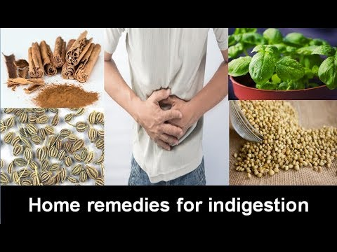 Home Remedies For Indigestion Part-II | Natural Treatment & Home Remedies