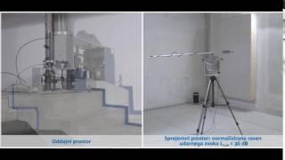 Učinek izolacije udarnega zvoka: Schöck Tronsole®