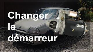 Remplacer un démarreur - Renault Clio 2