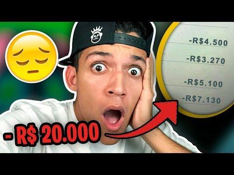 ME ROUBARAM R$ 20.000 MIL REAIS! [DE VERDADE]