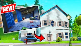 NEW *SECRET* EPIC LOOT BASEMENT REVEALED! - Fortnite Battle Royale