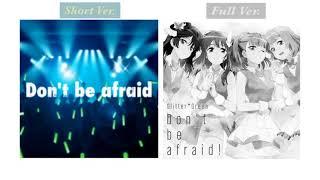 Don't Be Afraid comparison