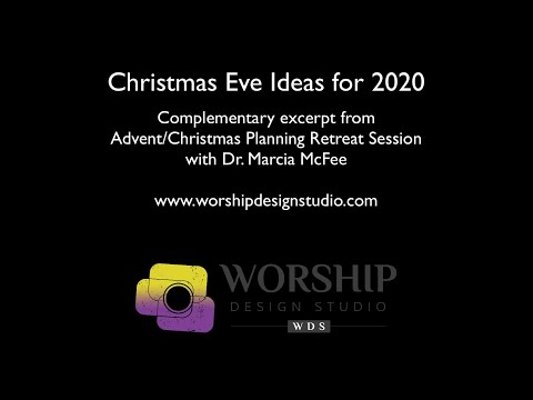 Advent Christmas Worship Series I Believe From The Worship Design Studio Youtube