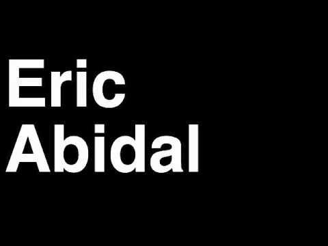 How to Pronounce Eric Abidal FC Barcelona Football Goal Penalty Kick Yellow Red Card Injury thumbnail
