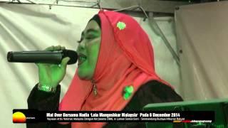 Mat Over Bersama Penyanyi Nadia '  Lata Mangeshkar Malaysia'  6 December 2014