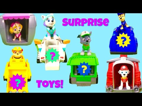 Paw Patrol Magical Pup House and Vehicle Toy Surpris Show! Every Pup Has a Surprise!