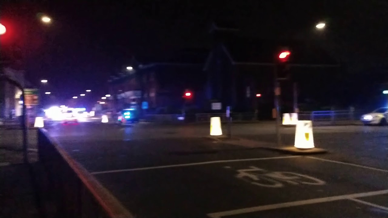 Huge Crash Causes Chaos In Altrincham News4trafford