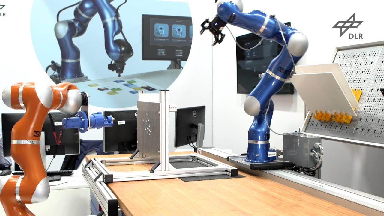 Human Centered Robotics At The Automatica 2016 In Munich Youtube