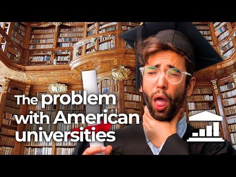 Why are American 🎓 Universities so 💰 Expensive? - VisualPolitik EN