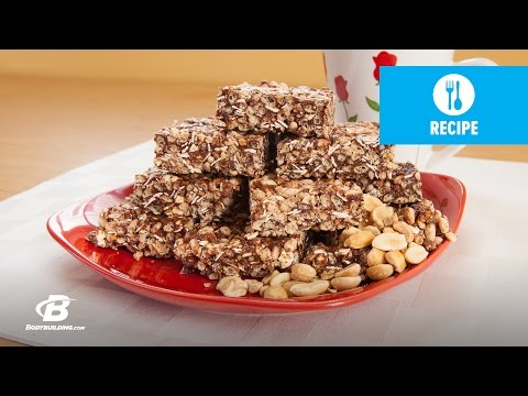 Jamie Eason's Chocolate Peanut Butter Protein Crisp | LiveFit Healthy Recipes