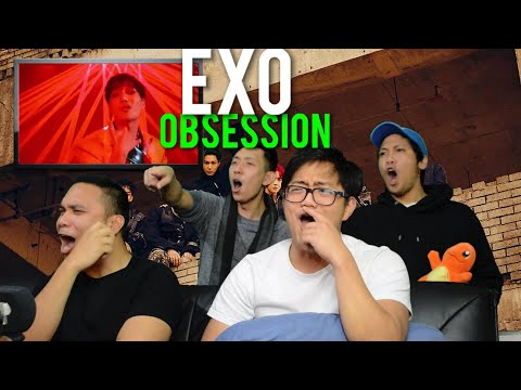 EXO Our OBSESSION (MV Reaction) #hotDAMNNNNN
