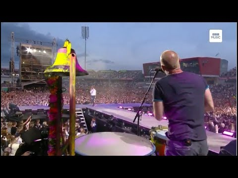 Coldplay Full Performance In One Love Manchester 2017