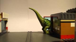 LEGO VELOCIRAPTOR ATTACK