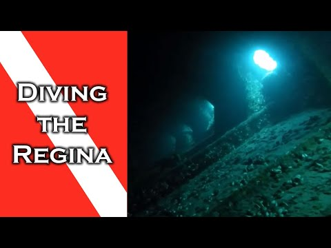 Diving the Regina