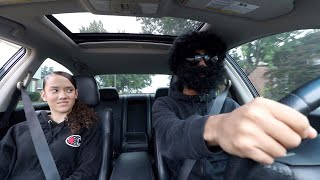Picking Up My Ex GIRLFRIEND Up In An Uber under Disguise