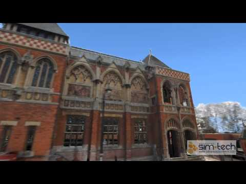 Laser Scan: Stratford-upon-Avon (RSC, Waterside)