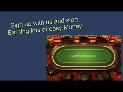 Online Poker Club : Join Now