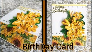 How to make Special Birthday Card/DIY-Beautiful Handmade Happy Birthday Card|Greeting Card|Cute Card