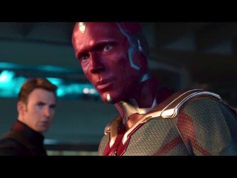 Vision lifts Thors Hammer - AVENGERS 2 Age of Ultron  Movie Clip