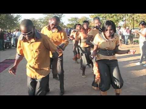 A Traditional African Wedding In Botswana Youtube