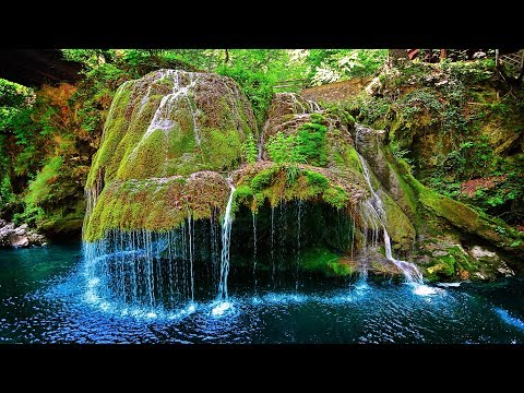 LIVE Bigar Waterfall (Caraș-Severin, Romania) Most Unique in Nature Reserve