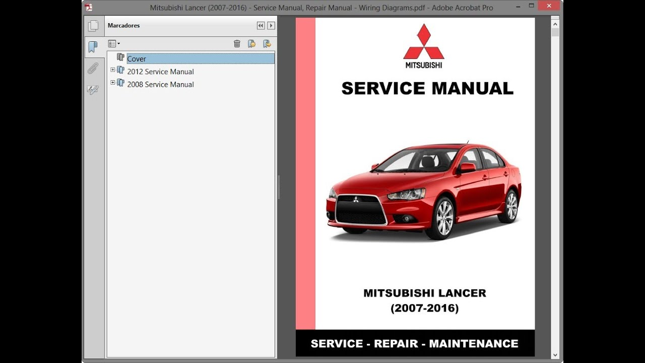 Mitsubishi Lancer (2007-2016) - Service Manual / Repair ...