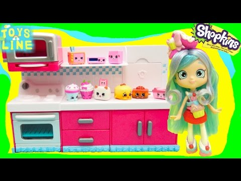 Shopkins Season 6 Hot Spot Kitchen Chef...